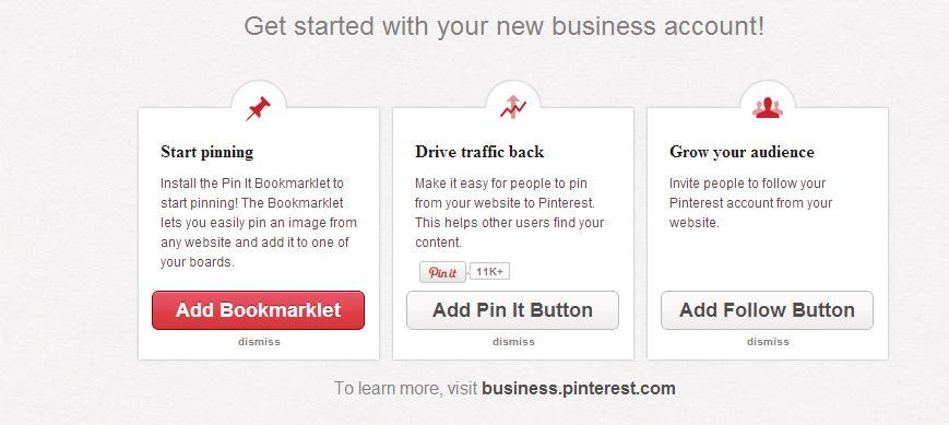 Pinterest Tutorial Pinterest for Business 2
