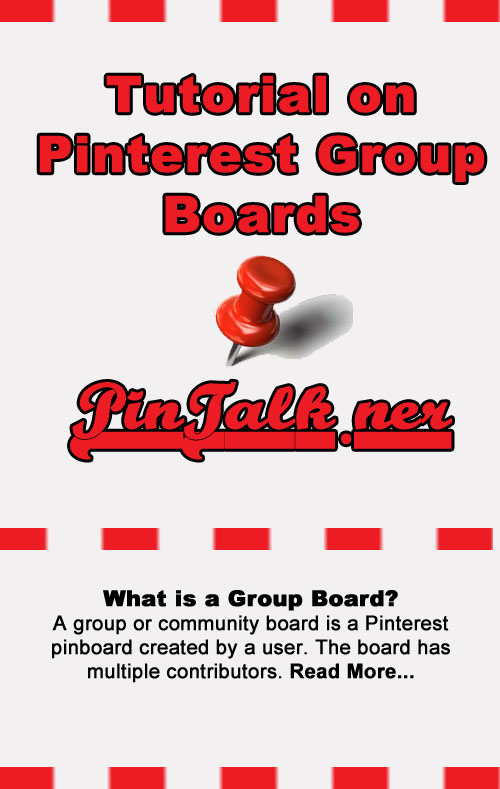 Pinterest Tutorial What Is A Group Board