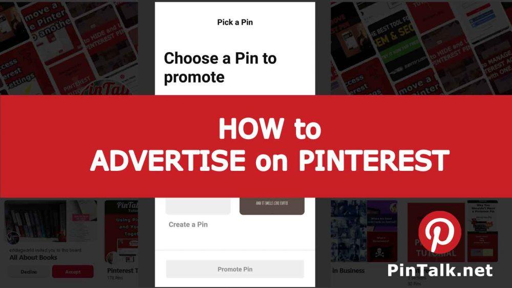 Advertise on Pinterest