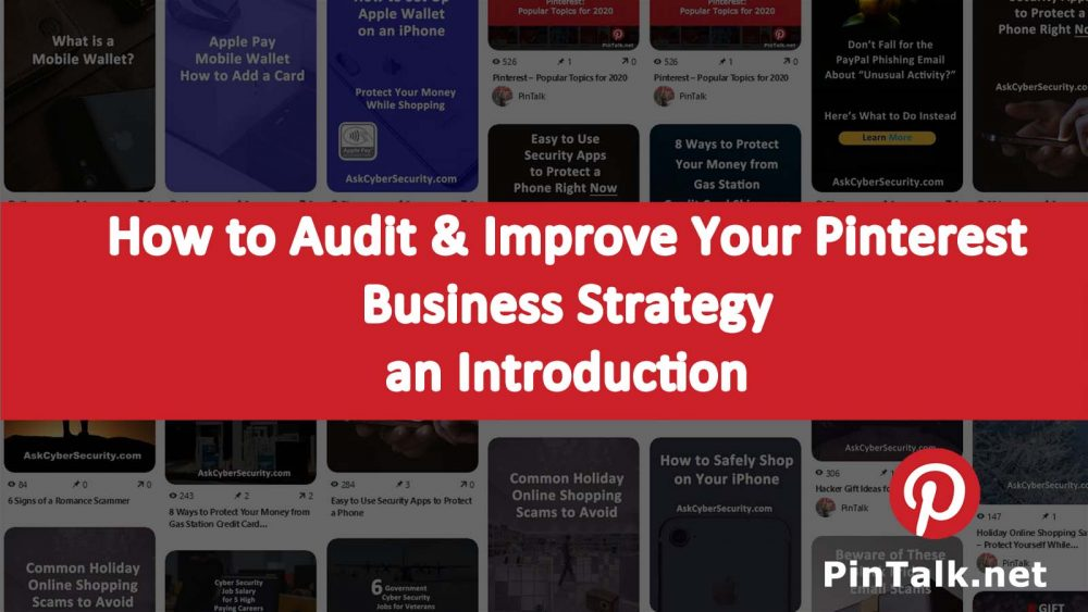 Audit Improve Pinterest Business Strategy Intro