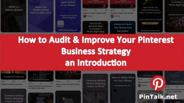 Audit Improve Pinterest Business Strategy Intro