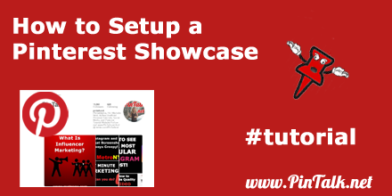 How to Setup Pinterest Showcase 440