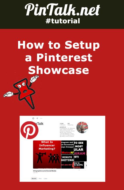 How to Setup Pinterest Showcase