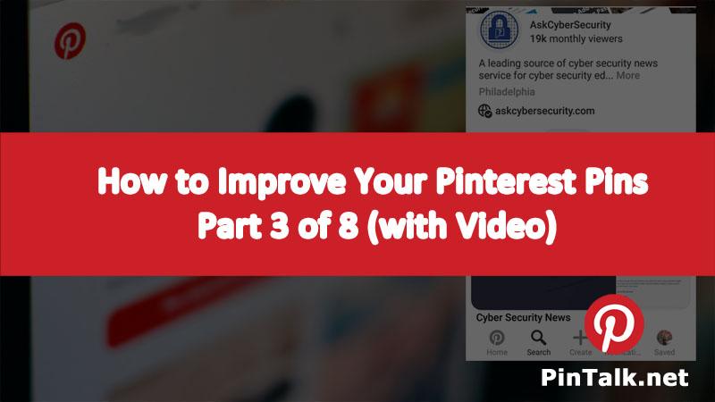 Best Pinterest PIN Setup Pintalk