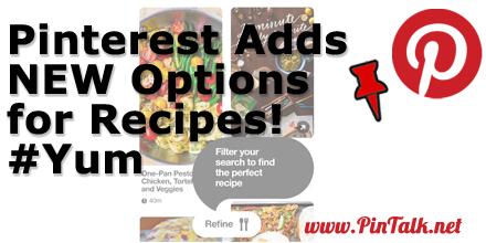 Pinterest Food RIch Pins