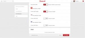 Pinterest-Apps-Settings