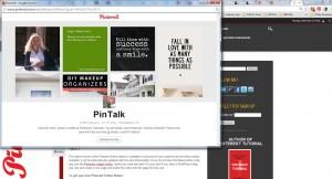Pinterest Follow Pop Up