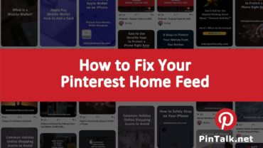 Pinterest Home Feed