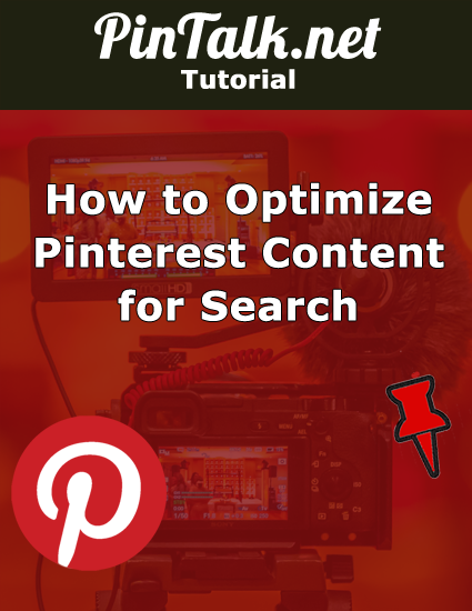 Pinterest Optimize Content Visual Search