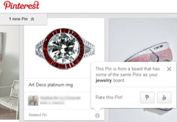 Pinterest Related Pins Feed