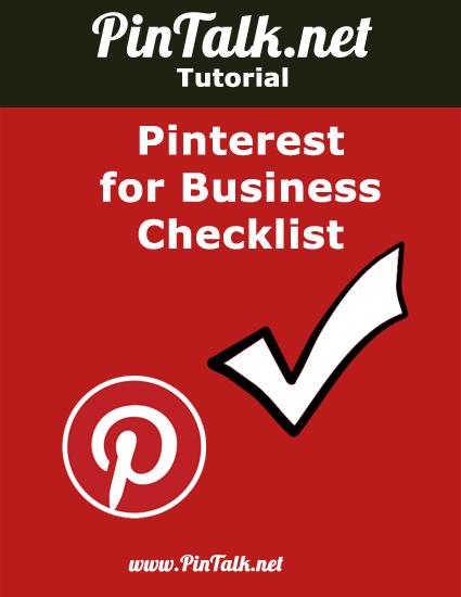 Pinterest for Business Checklist